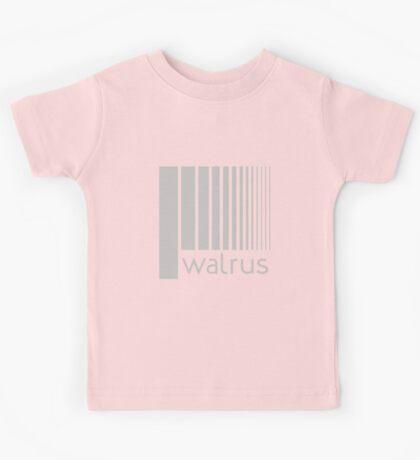 Walrus Grey Doppler Kids Tee