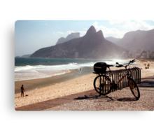 Ipanema Beach Canvas Print