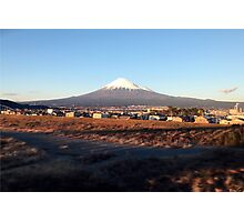 Mount Fuji, December 2014 : Photo Friday at meauxtaku.com Photographic Print