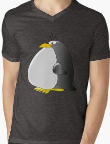 Fat Penguin Mens V-Neck T-Shirt