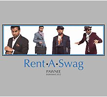 Rent-A-Swag Photographic Print