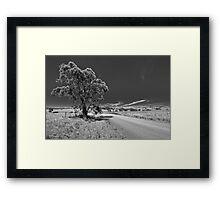 Bonnie Parker Road Framed Print