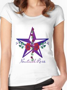 Nautical Rose Women's Fitted Scoop T-Shirt