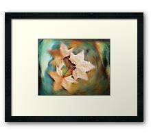 Autumn spin Framed Print