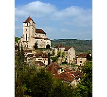 St. Cirq Lapopie on the Lot River, France Photographic Print