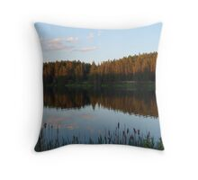 Loch Laven Throw Pillow