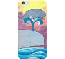 How Whales Have Fun iPhone Case/Skin