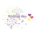 Wedding Day Confetti Card by CreativeEm