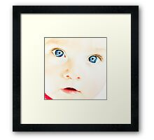 ...pools... Framed Print