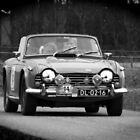 Triumph TR4A by Geoff Carpenter