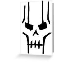 Necron Greeting Card
