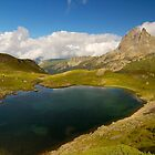 Pic du midi d'ossau and lac d'Ayous by patrick pichard