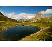 Pic du midi d'ossau and lac d'Ayous Photographic Print