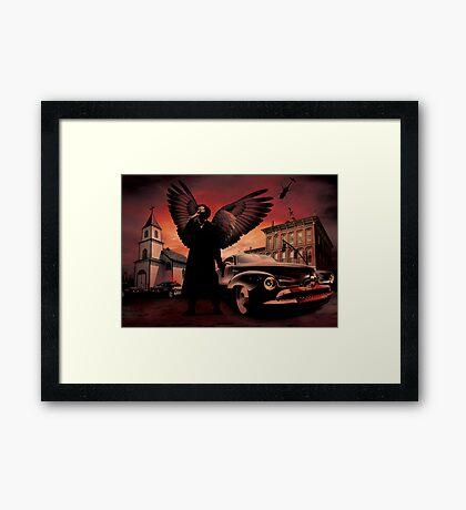 batfink Framed Print