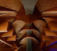 Soffitto del Carapace, Cantina della Tenuta Castelbuono, Umbria, Italy by Andrew Jones
