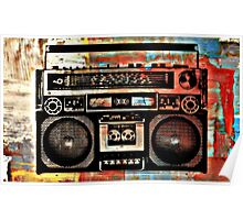 Boombox Poster