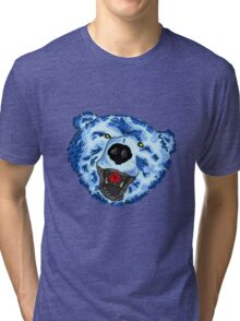 Big Blue - Altered Beast Tri-blend T-Shirt