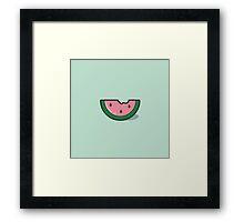 Watermelon Framed Print