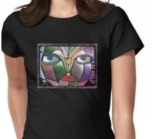 minds eye Womens Fitted T-Shirt
