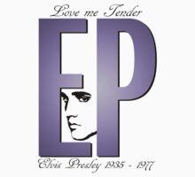 """Elvis Presley T Shirt """"Love me Tender"""" by kmercury"""