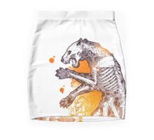 Panther anatomy Mini Skirt