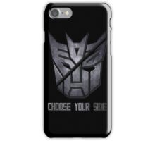 Choose your side iPhone Case/Skin