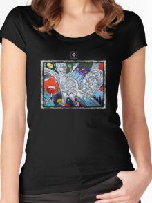 mother nature Women's Fitted Scoop T-Shirt