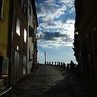 Street in Motovun by Rasevic