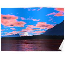 Talus Lake Sunset Poster