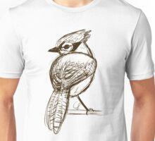 Blue Jay Sketch Unisex T-Shirt