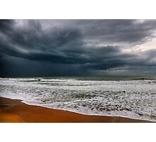 storm over the sea Photographic Print