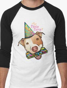 Pittie Party Men's Baseball ¾ T-Shirt