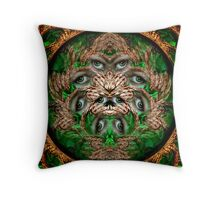 windows of the soul Throw Pillow