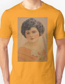 Vintage Picture-Beautiful Lady T-Shirt