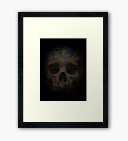 Skull 002 Framed Print