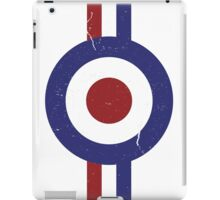 Weathered Target and stripes iPad Case/Skin