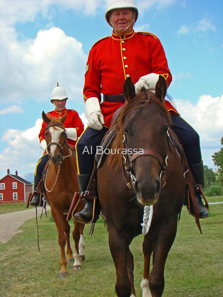 Mounties Always Get Their Man by Al Bourassa