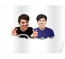 Dan & Phil - Butterflies  Poster