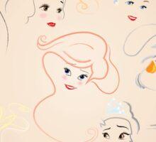 Allure - Princesses Sticker