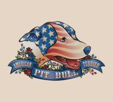 American Pit  Bull Terrier by Linda Hardt