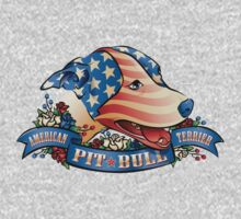 American Pit  Bull Terrier One Piece - Long Sleeve
