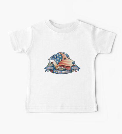 American Pit  Bull Terrier Baby Tee