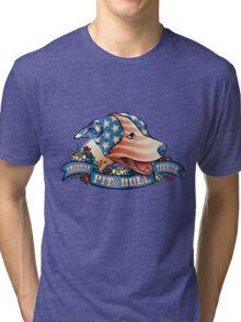 American Pit  Bull Terrier Tri-blend T-Shirt