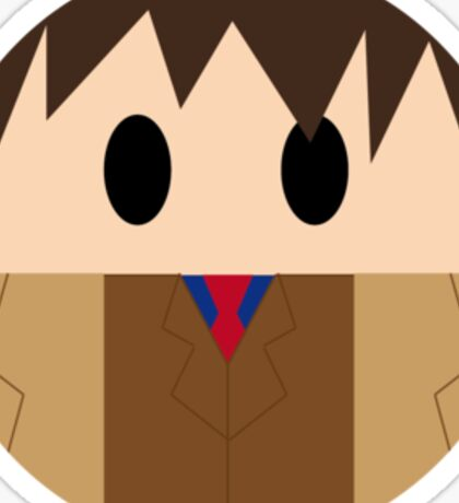 Doctor Who: 10th Doctor!  Sticker
