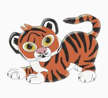 Baby Tiger Cub Design by biglnet