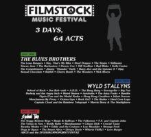 Filmstock Music Festival (white text) by Flickster