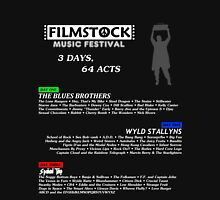 Filmstock Music Festival (white text) Unisex T-Shirt