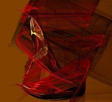 Lady in Scarlet by LaFenetreArts