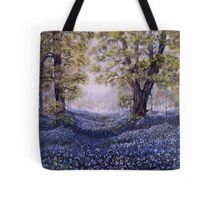"""""""Mary's Bluebells"""" - oil painting Tote Bag"""