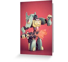 Grimlock Greeting Card